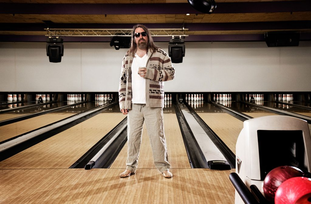 celebrity photography of big lebowski event