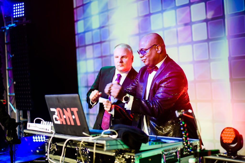 chicago special event photography of dj booth
