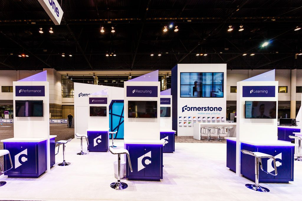 cornerstone trade show booth photography