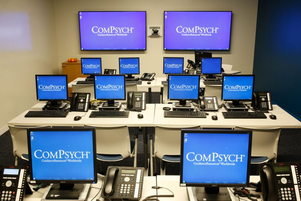 corporate office photography of compsych