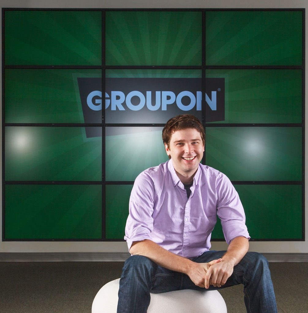 executive portrait of groupon professional