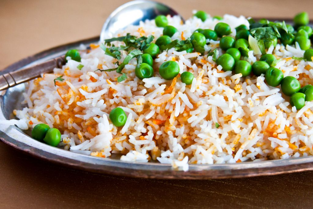 food photography of east india grill chicago