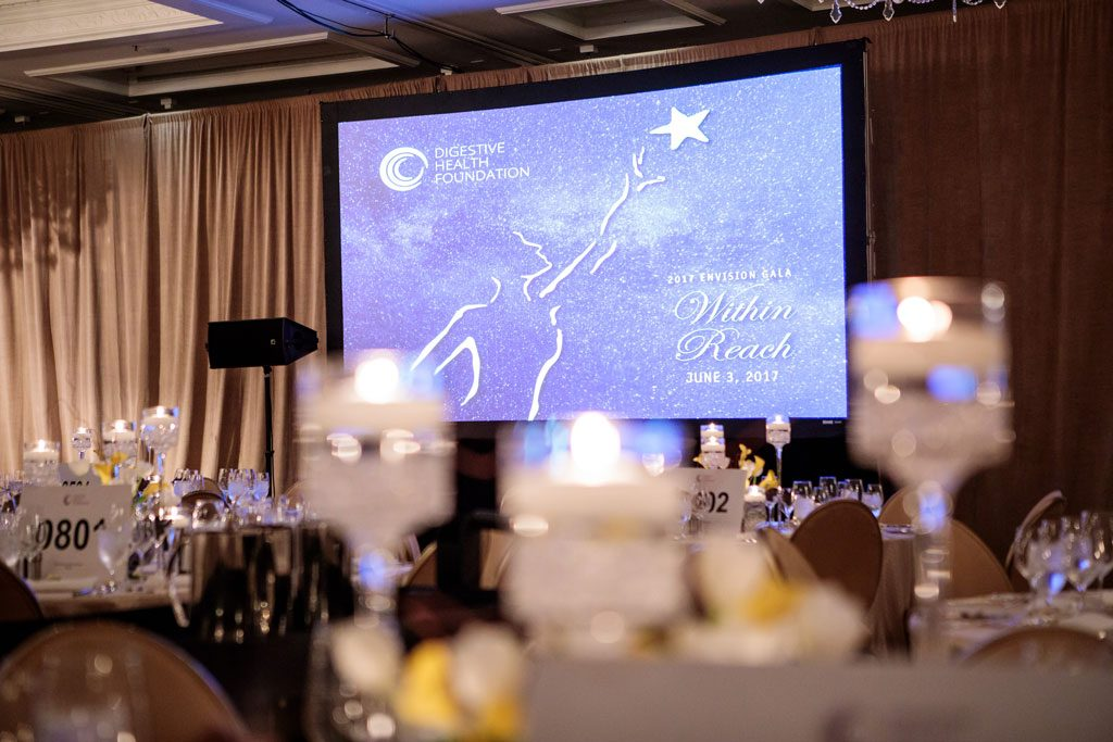 gala photography of digestive health gala in chicago