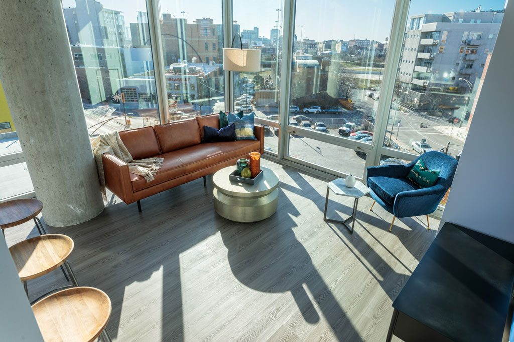 image of chicago condo with city view