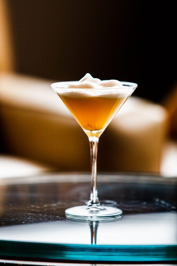 image of martini at chicago bar