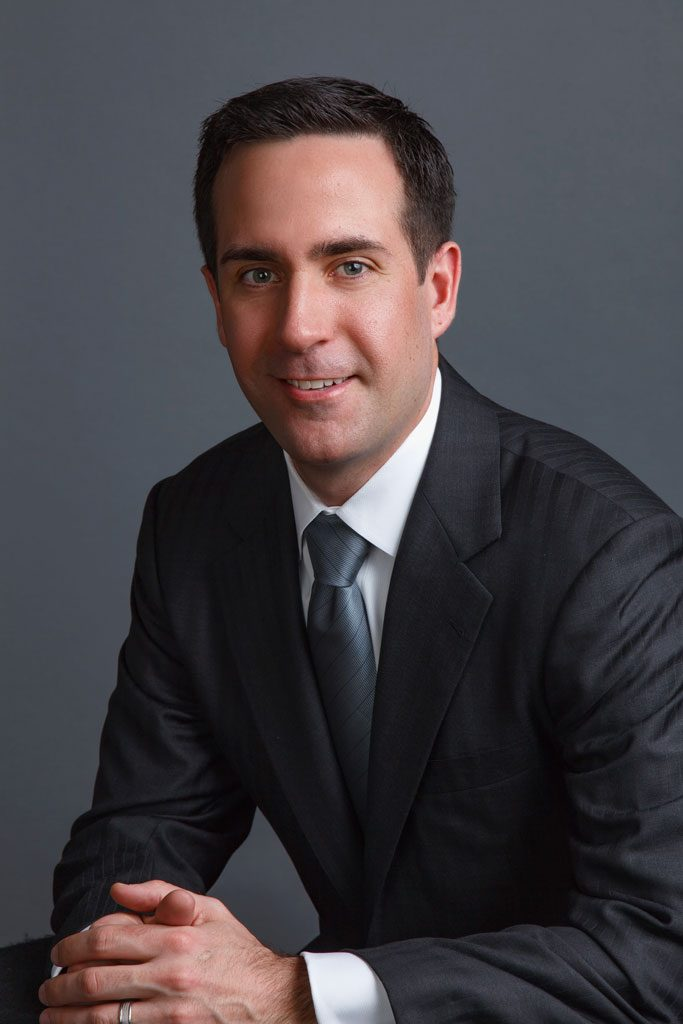image of professional in executive portrait for website