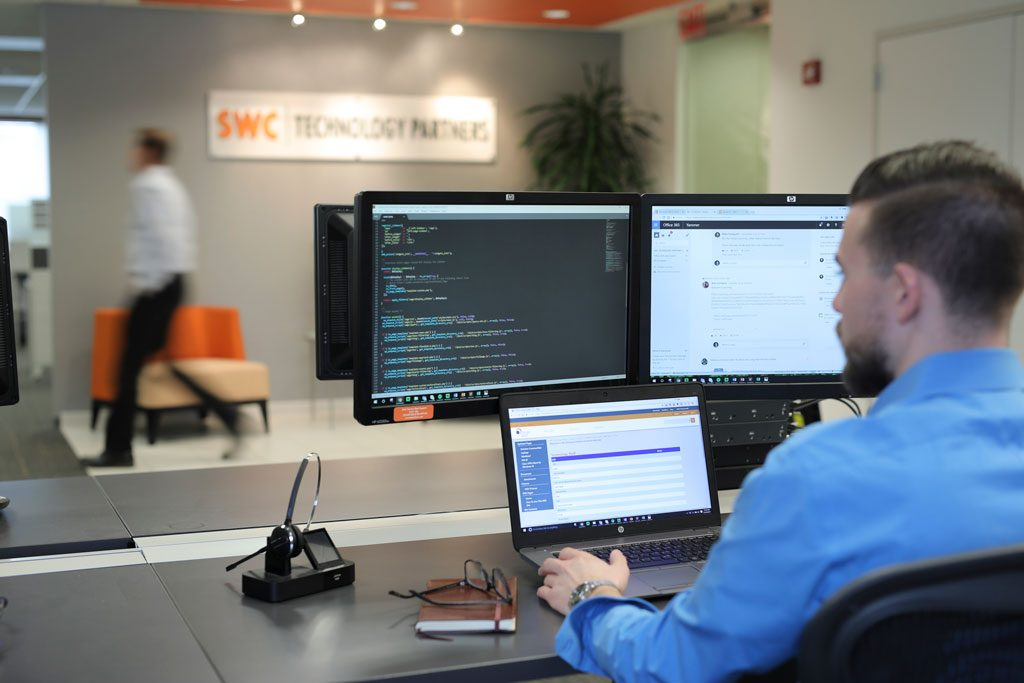 office photography at swc technology partners