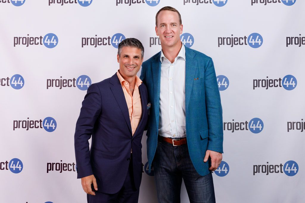 peyton manning at project 44 event