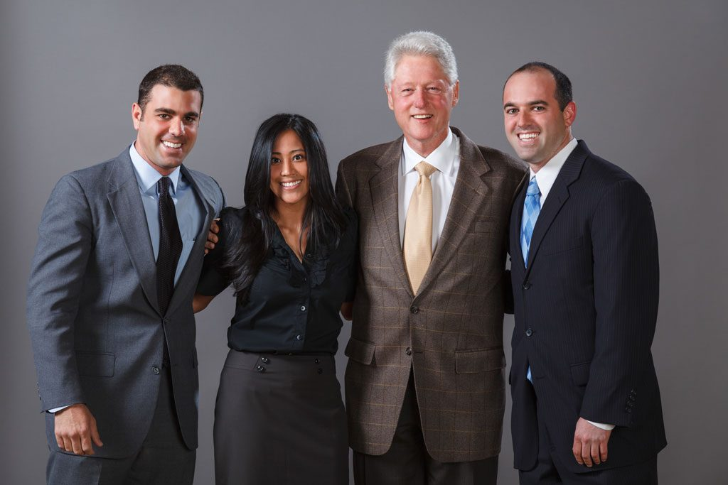 photo of bill clinton meet and greet photography chicago