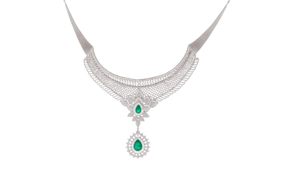photo of green necklace
