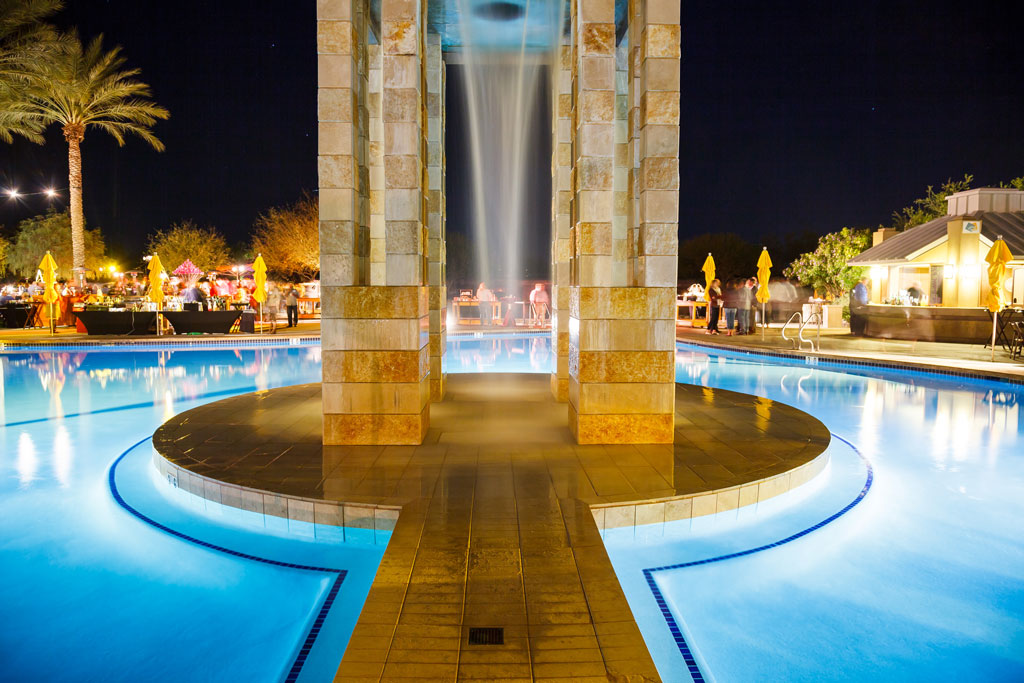 photography of pool at the premier club hotel