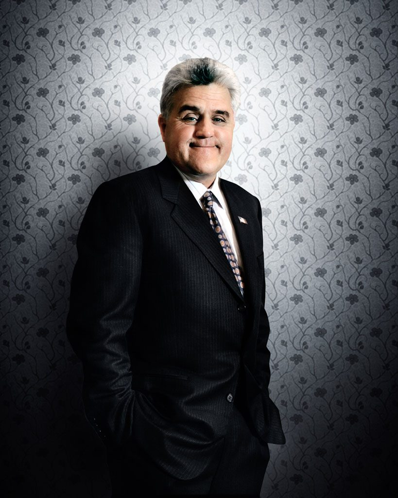 professional celebrity photographer chicago jay leno