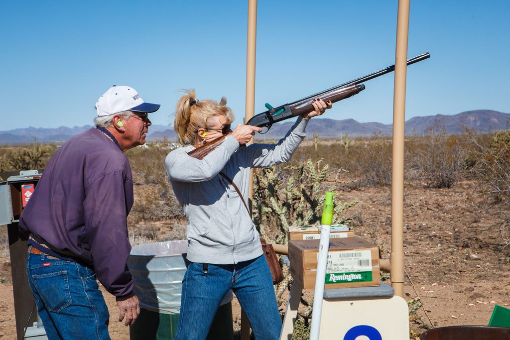 professional destination management photography of shooting sports event