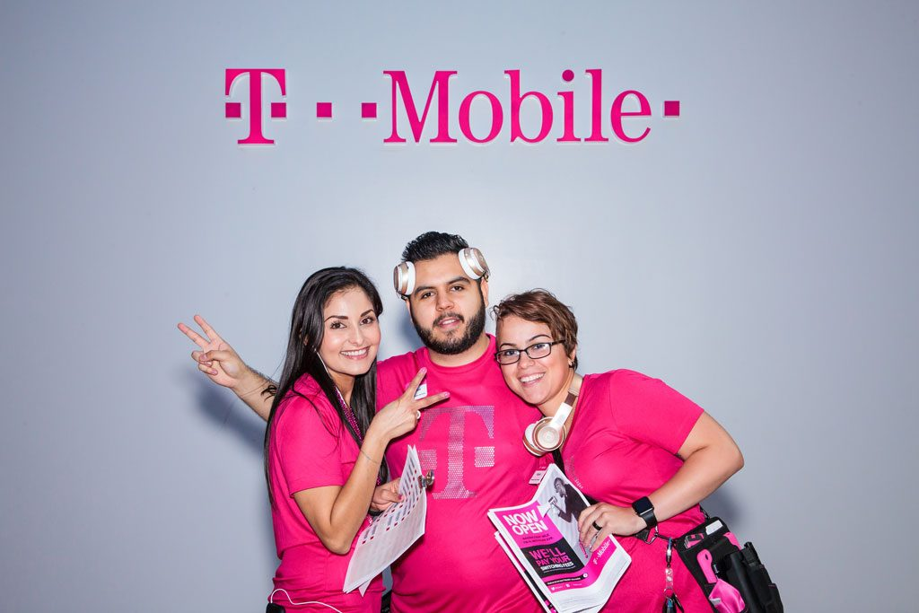 professional event photography at tmobile event