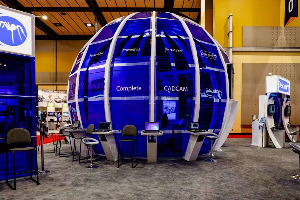 professional trade show booth photography company chicago