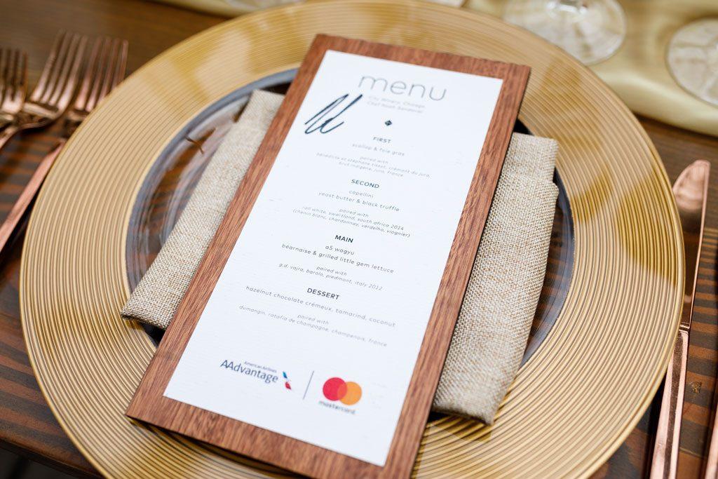 restaurant image of menu