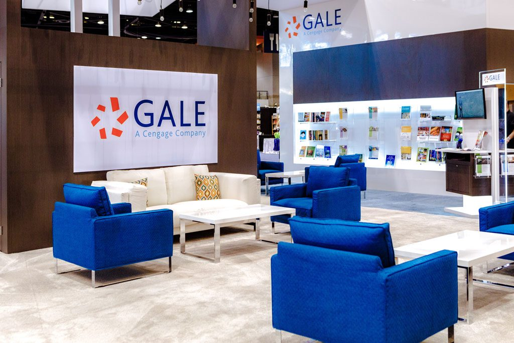 trade show booth photography for gale